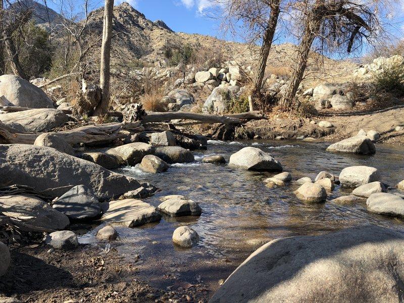 Crossing the Bull Run Creek