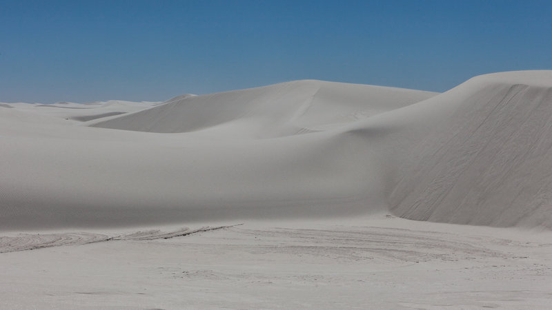 White Sand Mountains