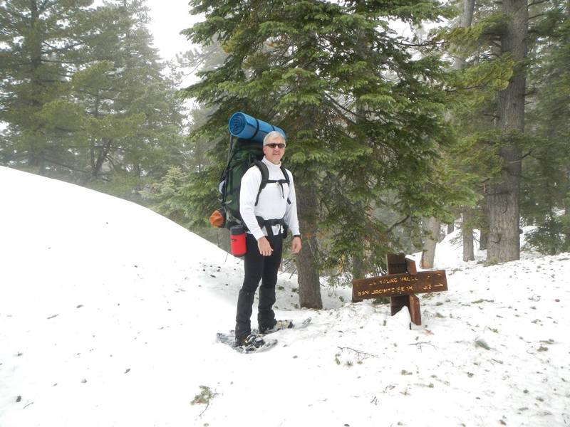 Trail junction - Marion and PCT.
