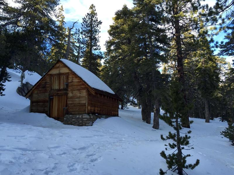 Ranger station - Round Valley - January 2016