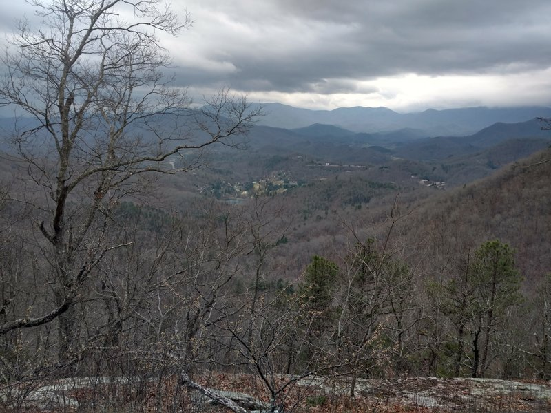 View from William's Pulpit on the Bartram Trail