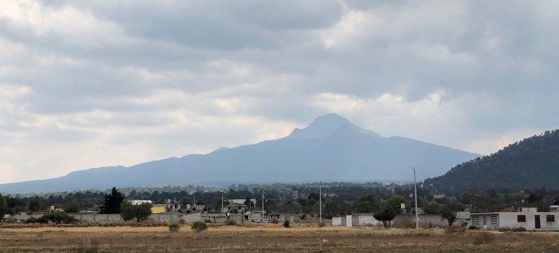 La Malinche seen from the Road