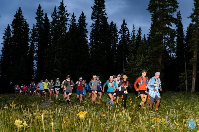 Start of the Grand Mesa Ultra races!