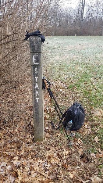 E Trail trailhead