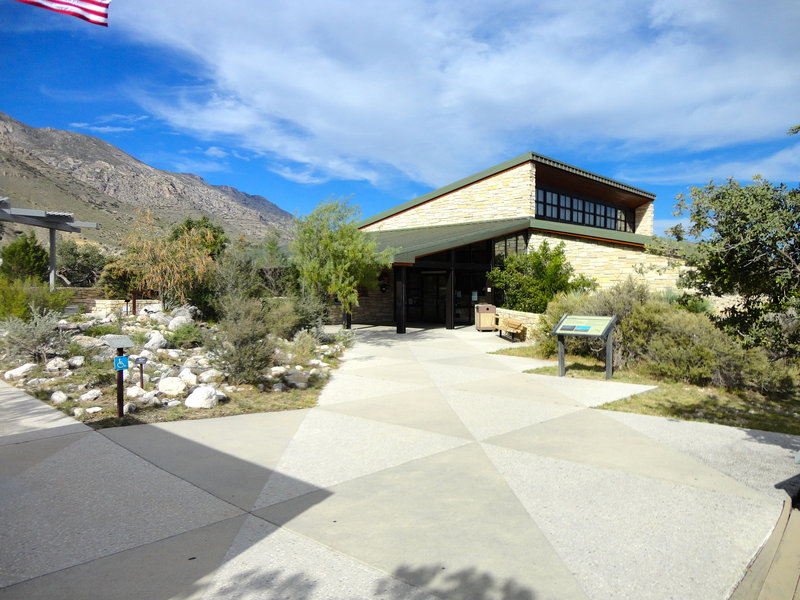 Guadalupe Mountains Visitor Center.