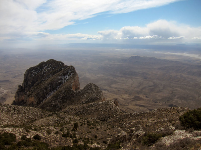 El Capitan from Guadalupe Mountains National Park, Guadalupe Peak Trail.