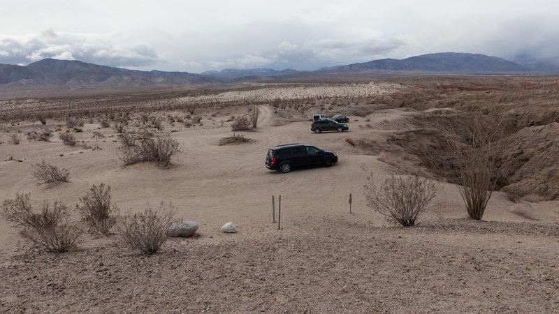 Slot Canyon Parking Lot