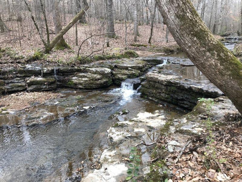 Waterfall near Jones Branch Loop