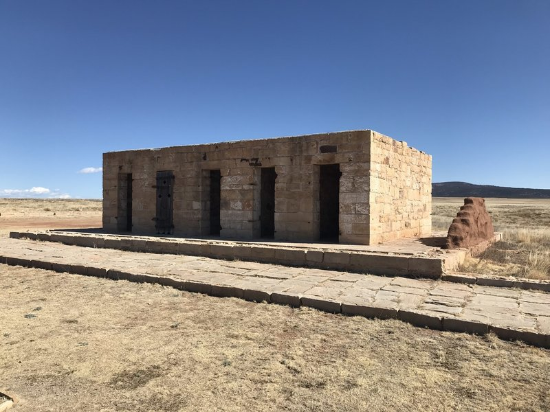Prison at Fort Union