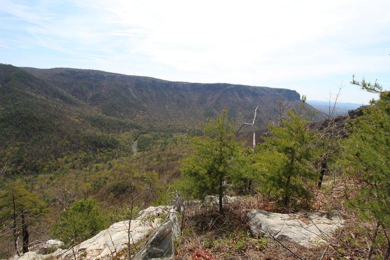 Rock Jock Trail, looking south