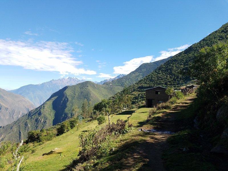 Very small village en route to Choquequirao
