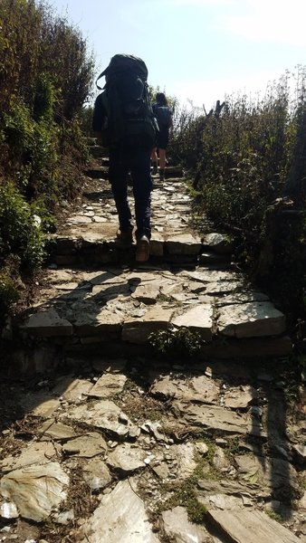 Steps up from Kande