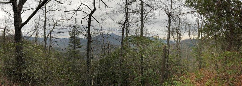 View looking eastward from Buckeye Knob