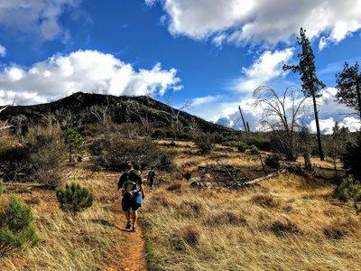 Cuyamaca Trail Map, Favorite Stonewall Peak From The Cold Stream Trail, Cuyamaca Trail Map
