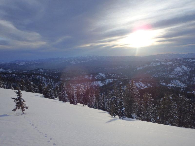 Sunset from Sunset mountain