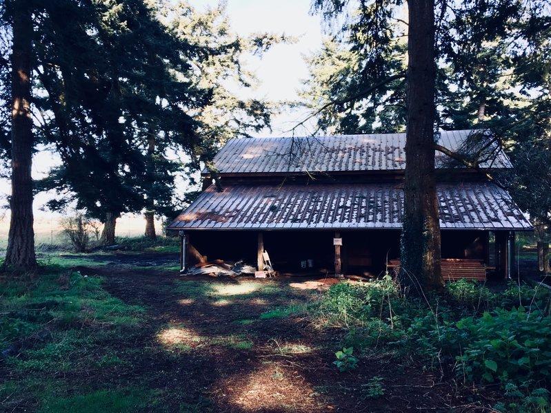 Pratt Sheep Barn.