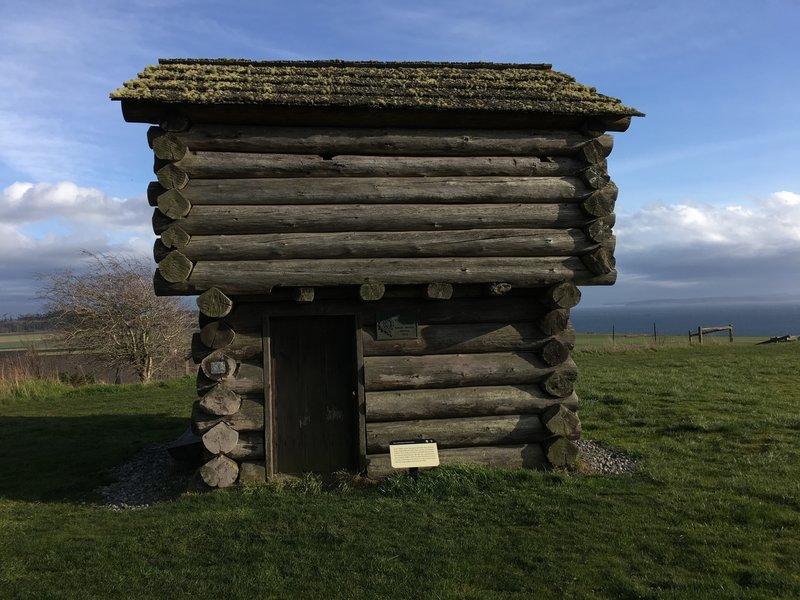 Ebey's Blockhouse.