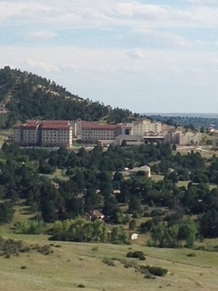 View of UCCS