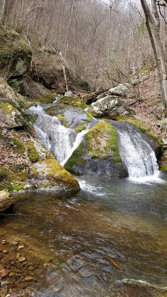 Waterfall from Island Rock