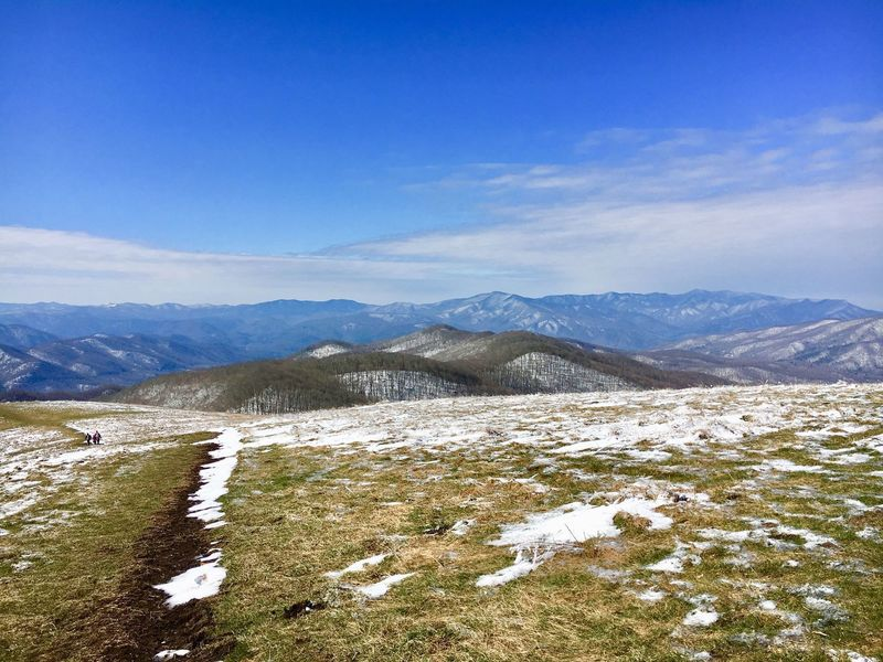 Appalachian Trail, Max Patch; March 25, 2018