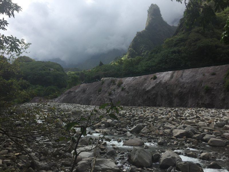 Needle from frail, other side of the Iao Valley