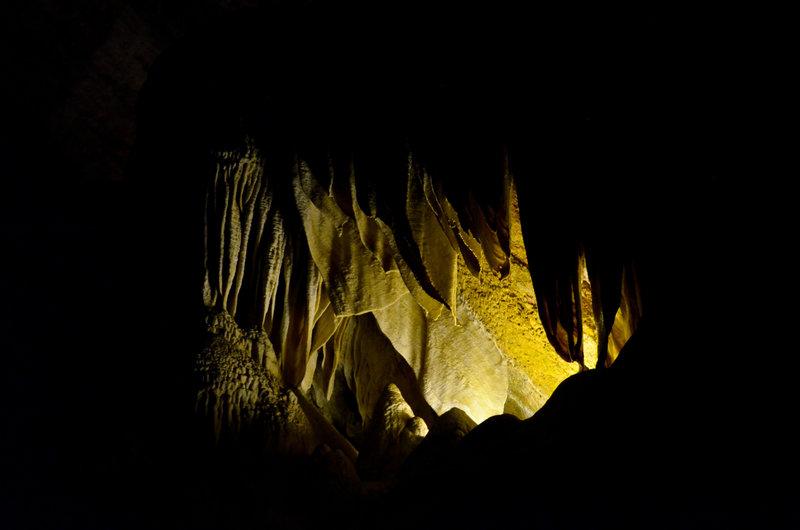 Carlsbad Caverns, NM.