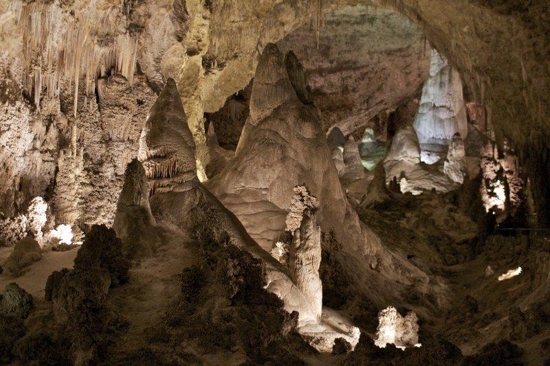 Carlsbad Caverns.
