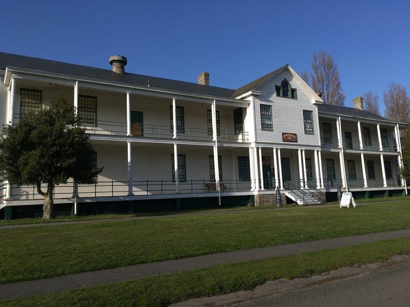 Barracks, and the coast artillery museum..