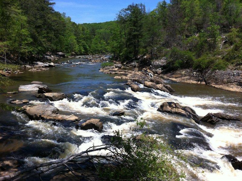 Falls at Sweetwater Creek