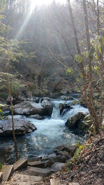 Virginia Creeper trail.