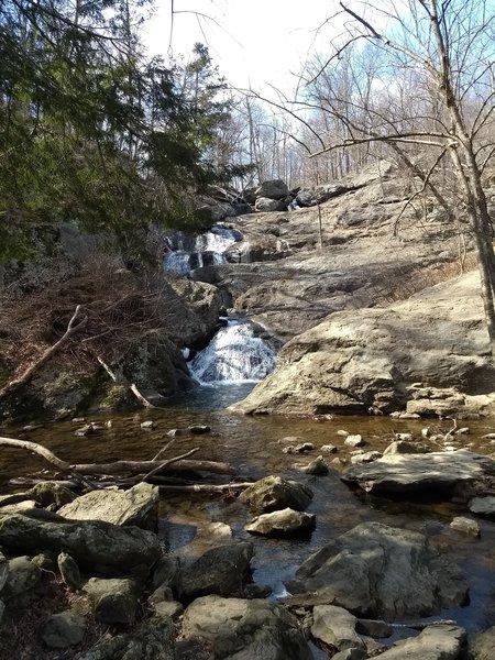 Overlook view of Cunningham Falls