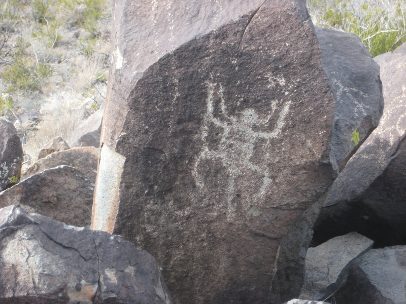 View of Petroglyphs