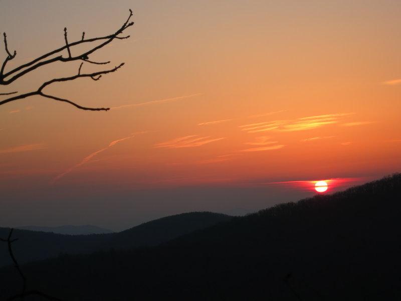 Georgia AT sunrise