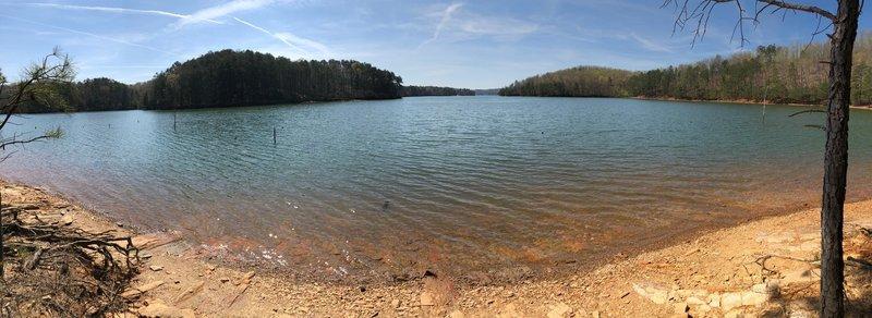Carters Lake from Amadahy