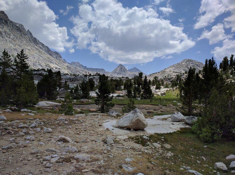 View Towards Muir Pass.