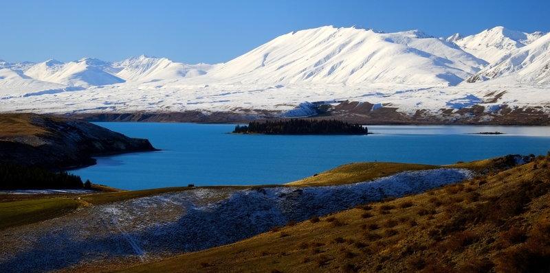 Lake Tekapo from Mt John.