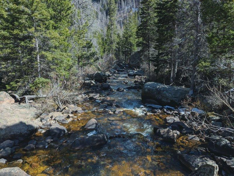 River view on a bridge