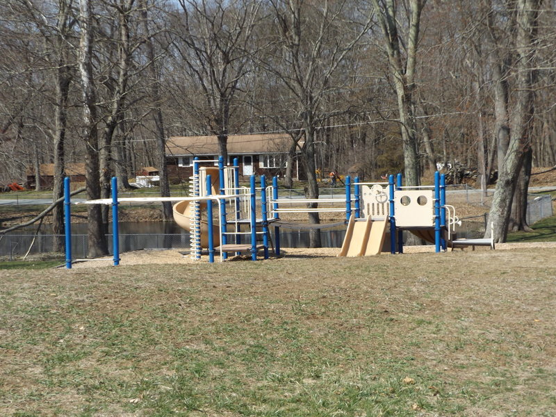 playground and picnic area