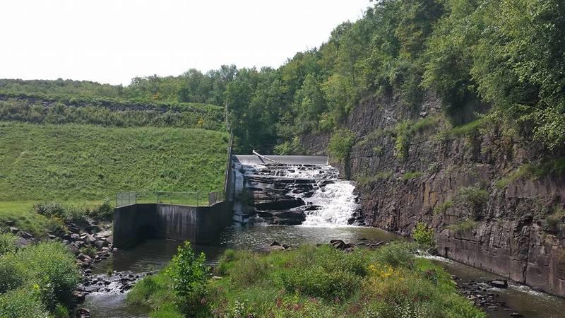 Dam at Lackawanna State park