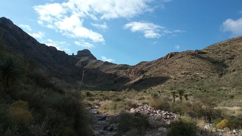 North end of trail