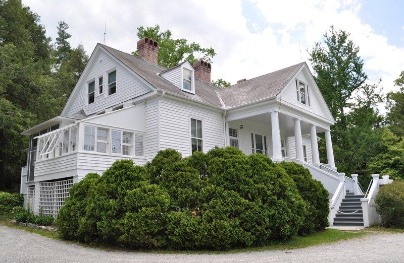Carl Sandburg National Historic Site Main House - photo courtesy of NPS