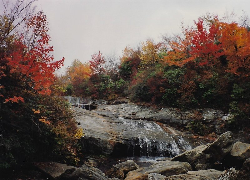 Upper Falls in the autumn