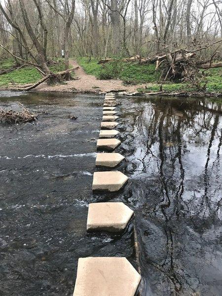 This creek crossing is easy!