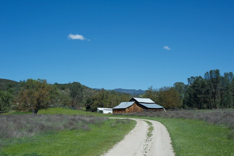 Approaching the Butterfield Ranch
