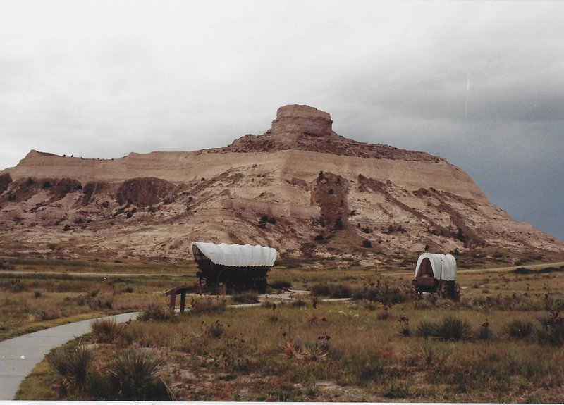 Oregon Trail and the Bluffs.