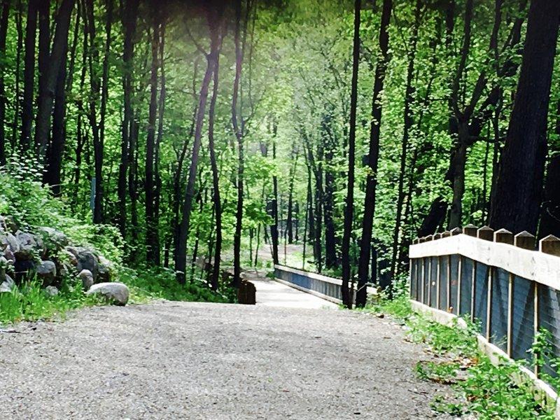 The Calhoun County Trailway, Michigan