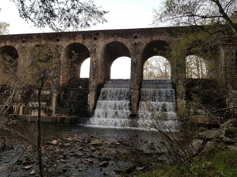 Bridge water fall