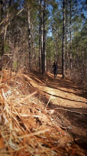 Trails are great for running, too!