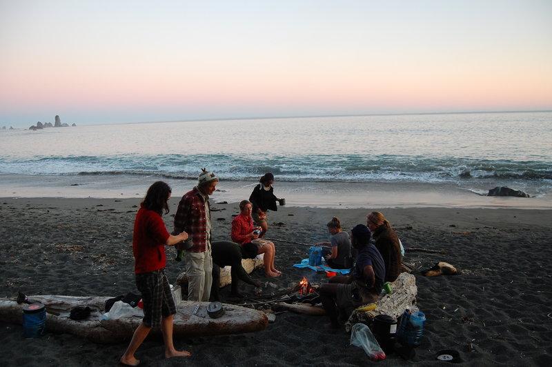 Third Beach (Check NPS fire bans)