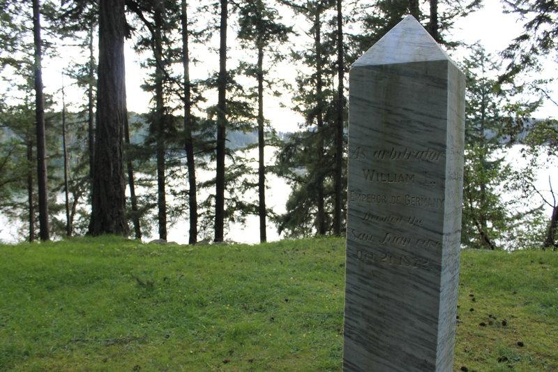 Border dispute marker.